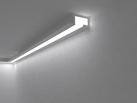 MOLDURA DE Yeso para LED Doble: Amazon.es: Hogar