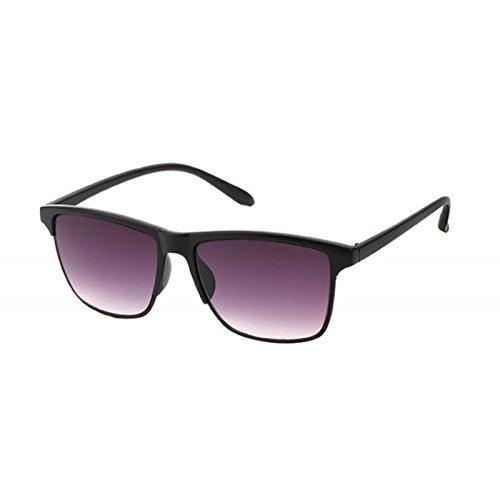 púrpura tintados vidrios Multicolor marrón trapezoidales UV Gafas Chic 400 de sol Net verde pqfOqw