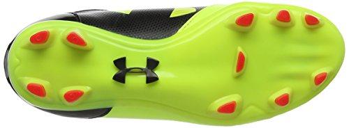 Under Armour UA B Spotlight DL FG Jr, Botas de Fútbol Para Niños Amarillo (High-vis Yellow 731)