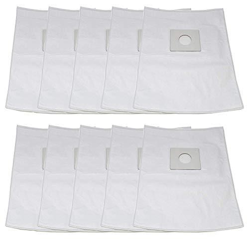 ZVac Sharp Type PU-2 MicroFiltration Premium Upright HEPA Cloth Vacuum Bags with Closure; Fits All Sharp Upright Vacuums; Similar to Part# EC-03PU2, EC03PU2, ECTU5907, ECTU5909 (10)