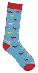 TuffRider Childs Neon Pony Socks Blue