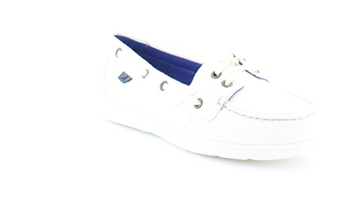 Sperry Top-sider Shoresider Mujeres Flats & Oxfords Blanco