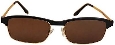 LIUYALE Optische Brillen, reduzieren Überanstrengung der Augen-Kristall-Objektiv UV-Schutz Ultra-Light Männer und Frauen Vintage HD Sonnenbrille Brillenfassungen (Color : Sunglasses)