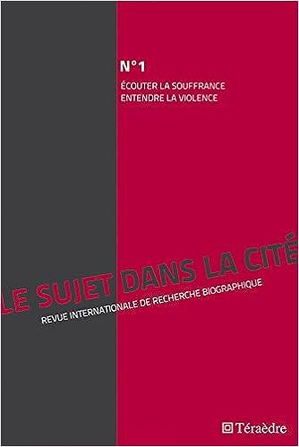 Le sujet dans la cité, N° 1, Novembre 2010 (French Edition) (French) Paperback