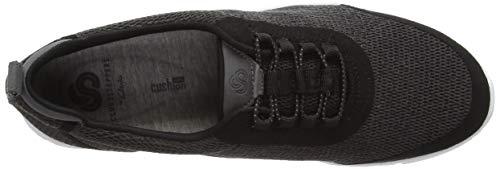 37 Noir Eu Gris Allenabay Basses dark Step Grey Femme Sneakers Clarks XOSYwqn