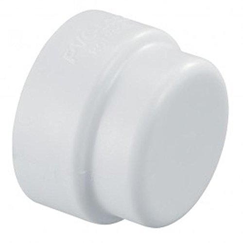 "Hydro-Rain PVCL-447-010 No Glue Needed PVC-Lock Cap, 1"""
