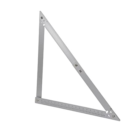 Silverline 732000 Aluminium Folding Frame Square 600mm