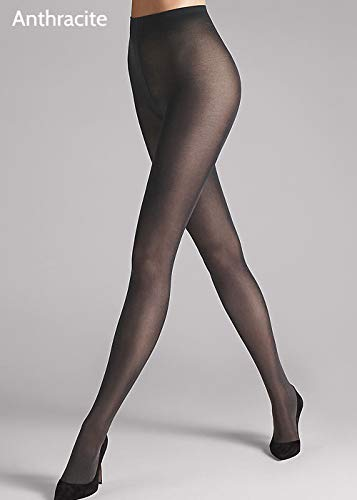 (Wolford Satin Opaque 50 Tights (18379) L/Black)