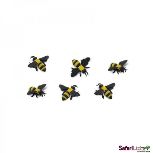 set of 10 bumble bees for math counting manipulatives