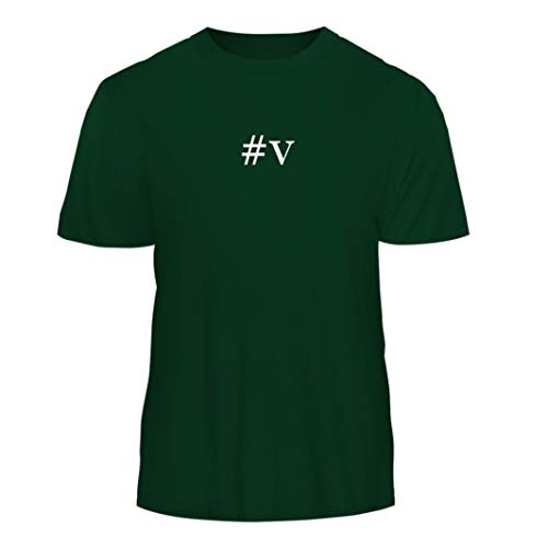 Tracy Gifts #v - Hashtag Nice Men's Short Sleeve T-Shirt, Forest, XX-Large