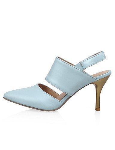 Sandalen ShangYi Damenschuhe Spitze Farben Zehensling Weitere Blau erhältlich Stöckel Absatz wdXdrqT