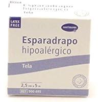 ESPARADRAPO HIPOALERGICO TELA HARTMANN 5 MM x 2,5