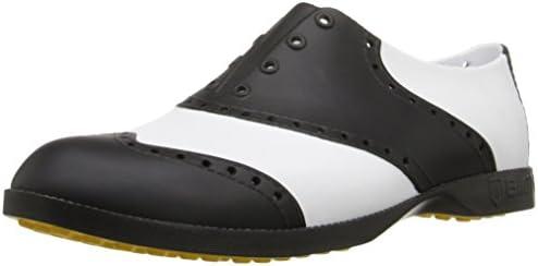 BI1004 ゴルフシューズ BCL-1004 白/黒