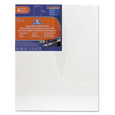 X-acto Foam Board - White Pre-Cut Foam Board Multi-Packs, 11 x 14, 4/PK