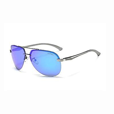 FeliciaJuan Driving Polarized Sports Sunglasses Metal Frame Ultra Light Glasses