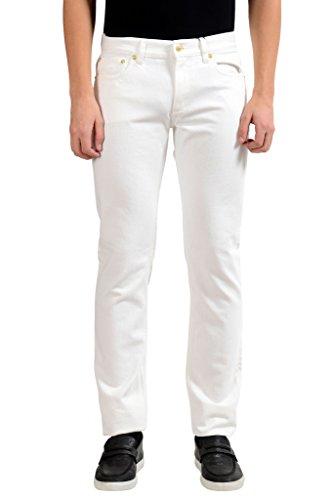 Versace Versus Men's White Slim Jeans