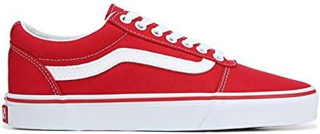 Vans Ward Low Top Sneaker - Racing Red