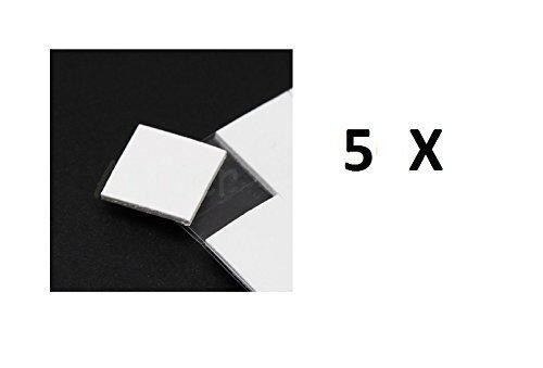 5 opinioni per 5X PAD TERMICO BIADESIVO 10mm VGA CPU CHIP SMD processore scheda madre pc ram
