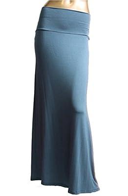 Azules Women's Banded Maxi Skirt