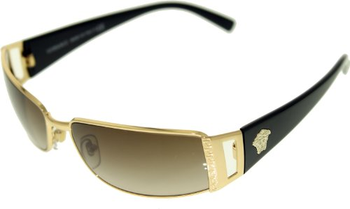 Versace Sunglasses - 2021 / Frame: Gold/Brown Lens: Brown Mirror Silver