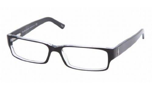 Polo PH 2039 Eyeglasses Styles Top BlackCrystal Frame wNon-Rx 54 mm Diameter Lenses 5011-5415