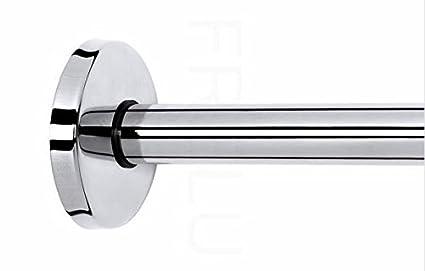 Embellecedor para tubo redondo - de montaje ocultos para todas las barras de cortina de ducha