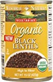 Westbrae Black Lentils 1 (12x15oz )
