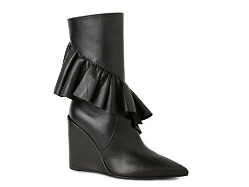 Women's Black Leather JWAFW03C W Ankle ANDERSON J Boots R7nqBAI