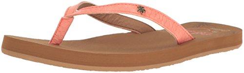 Cobian Women's Hanalei Flip Flop, Coral, 8 M US
