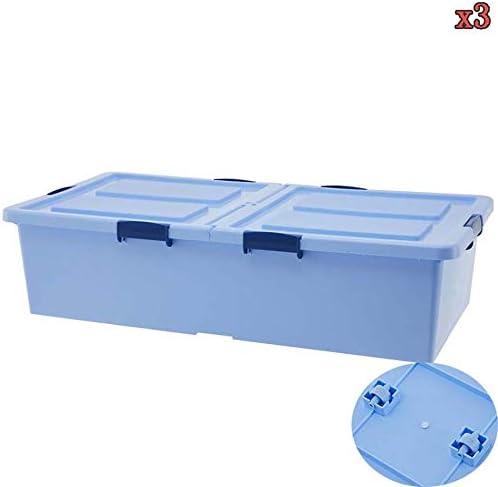 Cajas de almacenamiento debajo de la cama con tapas KEKET1 con ...