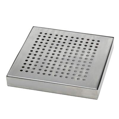 (American Metalcraft DT4 Stainless Steel Drip Tray, Square)