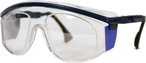 Radiation Protection Lead Glasses, Hornet Lead Glasses with Side Shields, 0.75mm Pb Equivalency Lens, Non Prescription