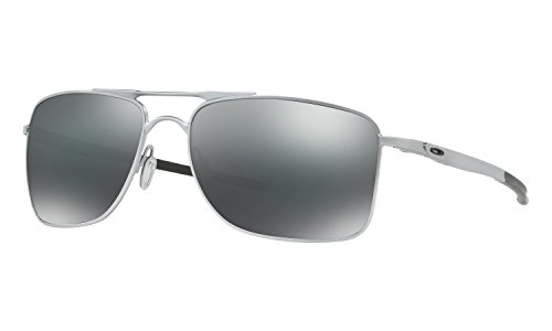 Oakley Gauge 8 Large Sunglasses Matte Lead with Black Iridium Lens + - Sunglasses Wire E Oakley