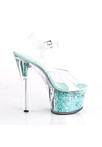 Clr turquoise Multi Pleaser Glitter 308gf Sky nFzqSppEYx
