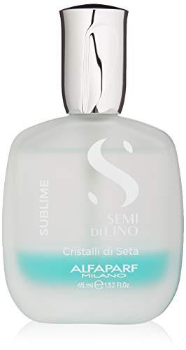 Alfaparf Milano Semi Di Lino Sublime Cristalli Di Seta Finishing Smoothing Serum for Fine Hair - Provides Shine and Protection - Professional Salon Quality - 1.52 fl. oz.