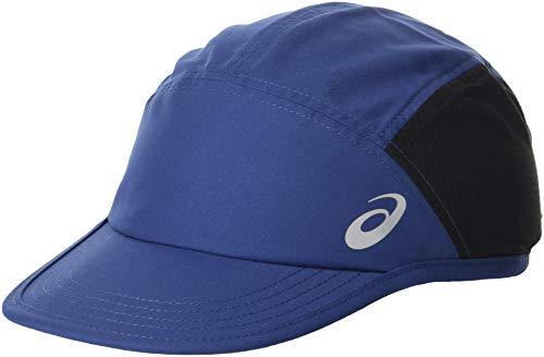 Woven Cap - ASICS Woven Cap, Peacoat, Large
