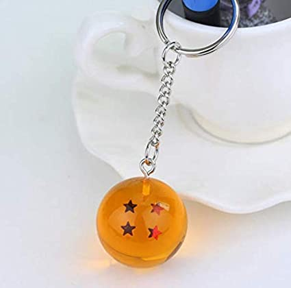Amazon.com : Anime Dragon Ball Z Keychains Orange PVC 1 ...