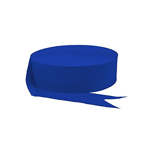 (Jumbo Roll Party Crepe Streamer | Bright Royal Blue | 500' | Party)