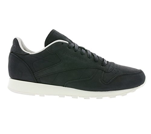 Reebok CL Leather LUX PW Hommes Chaussures Noir V68685, Taille:43