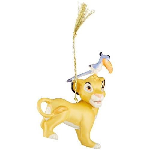 Lenox Simba & Zazu Ornament