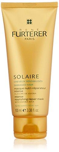 Rene Furterer SOLAIRE Intense Nourishing Repair Mask with Jojoba Wax, 3.3 oz. (Rene Furterer Modeling Paste)