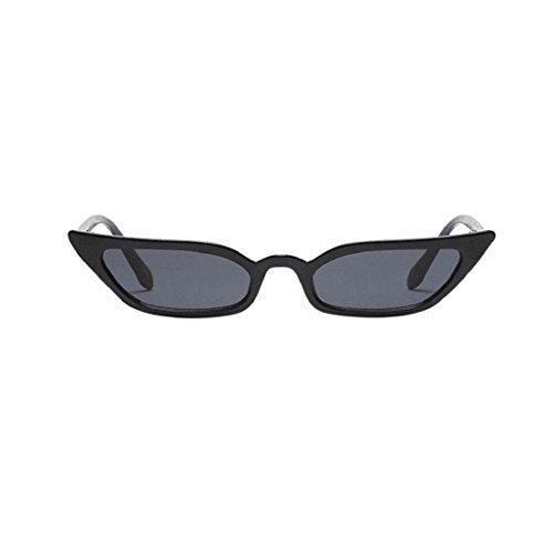 Culater® Eyewear UV400 Small soleil Frame de Noir Cat Lunettes Eye Vintage Retro Femmes BrwFB