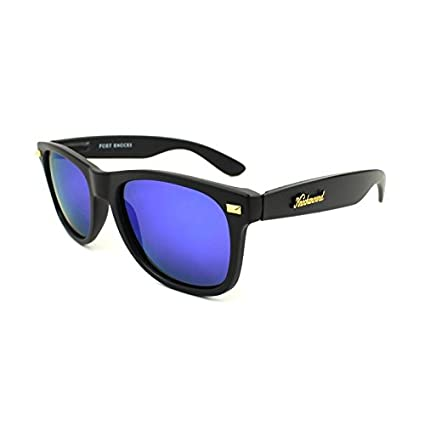 Gafas de sol Knockaround Fort Knocks Matte Black / Moonshine POLARIZADAS