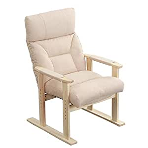 Amazon.com: Solid Wood Recliner Chairs Deck Chair Leisure ...