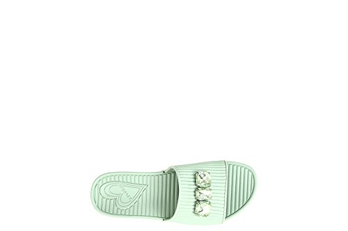 Cafè Noir KFD921 Slippers With Strass SOLEWAVE 1757 Acquamarina SxD1A4