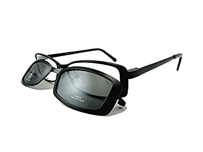 Calvin Klein CK CK5280Mag-Set Eyeglasses CK5280MAG-SET 001 Black Demo 51 16 135