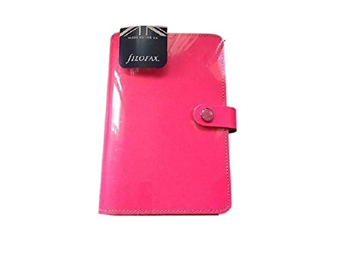 """Filofax 2016 Personal Organizer, The Original Fluro Pink, 6.75 x 3.75"""" (C022431-16)"""