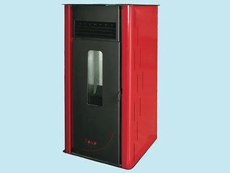 Estufa de pellets foko 6 de kW/H. 6