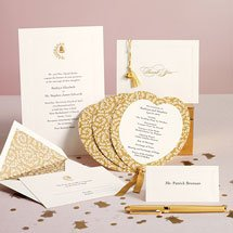 Martha Stewart Wedding Bell Invitation Suite, Set of 20 Invitations