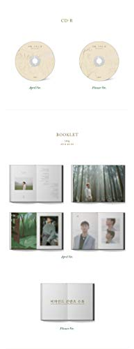 SM Entertainment CHEN EXO - April, and a Flower [Flower ver.] (1st Mini Album) CD+Photobook+1Photocard+1Bookmark+Folded Poster+Double Side Extra Photocards Set by SM Entertainment (Image #3)